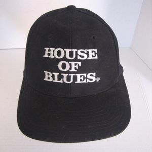 House of Blues Black Unisex Baseball Hat/Cap